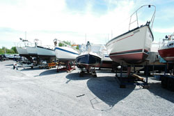 Boat Storage and Outboard Engines